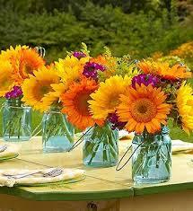 Sunflower Arrangements Ideas Best 25 Orange Centerpieces Ideas On Pinterest Orange Wedding