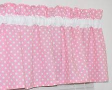 White With Pink Polka Dot Curtains Polka Dot Curtains Ebay
