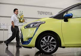 a toyota toyota sienta wins top awards in indonesia the japan times