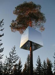 an inspiring mirrored treehouse design you u0027ll want to experience