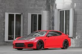 porsche panamera matte red anderson germany porsche panamera turbo car tuning