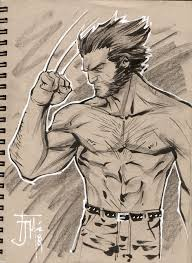 drink and draw wolverine by manapul on deviantart
