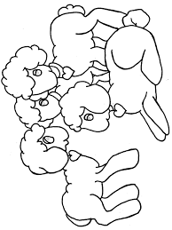 easter lamb color 003 clip art library