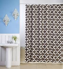 Bamboo Print Shower Curtain Fancy Shower Curtains Amazon Com