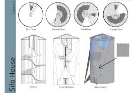 Grain Bin House Floor Plans by Silo Project Adapt Reuse