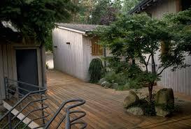 Backyard Wood Deck Outdoor Decking Ideas Trendir