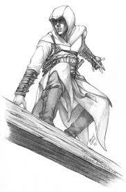 Assassins Creed Black Flag Statue Puzzle Ac Altair Sketch By Nijuuni Deviantart Com Assassins Creed