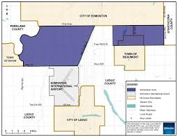 proposed leduc county annexation city of edmonton