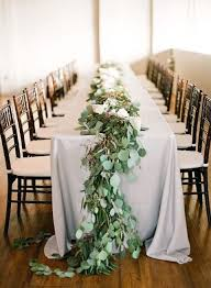 wedding table decor 35 stunning eucalyptus wedding decor ideas happywedd
