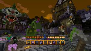 halloween pc minecraft halloween battle map on ps4 official playstation store