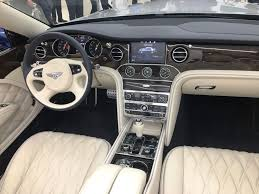 bentley mulsanne interior 2018 bentley grand convertible unveiled in dubai uae yallamotor