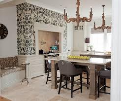 Contemporary Kitchen Wallpaper Ideas Traditional And Contemporary Kitchen Mashup Foodie Walla