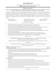 System Analyst Sample Resume by Financial Management Analyst Resume Sample Virtren Com