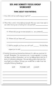 image result for free worksheets for recovery relapse prevention