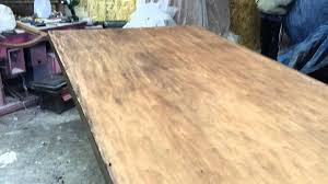 stripping a mahogany table at timeless arts refinishing http www