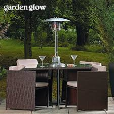 Garden Patio Heater Garden Glow 4kw Table Top Patio Heater Patiomate
