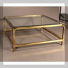 Brass Glass Coffee Table Table Brass And Glass Coffee Table Overstock Brass And Glass