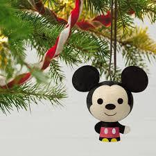 mickey mouse wood ornament keepsake ornaments hallmark