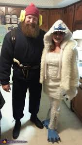 abominable snowman costume yukon cornelius and the bumble costume photo 2 3