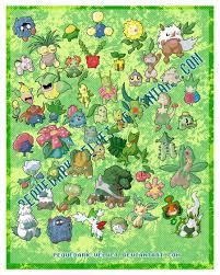 chibi pokemon stickers grass by pequedark velvet on deviantart