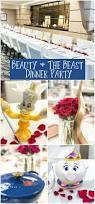 beauty and the beast dinner party april golightly