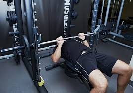 Bench Press Machine Bar Weight Smith Machine Close Grip Bench Press Musqle