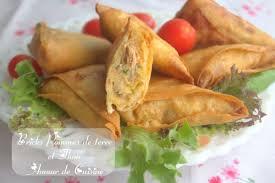 cuisine marocaine brick bricks aux pommes de terre et thon entrée du ramadan amour de