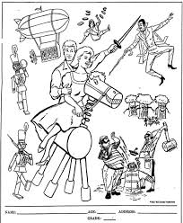 mostly paper dolls in toyland movie coloring contest 1961