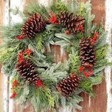 pine cone wreath brilliant pine cone wreath solidago wreath company