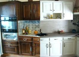 cuisine relooking renover sa cuisine en chene peinture meuble cuisine chene peindre