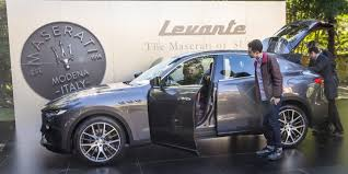 suv maserati 2017 maserati levante pricing and specifications 139 990 opening
