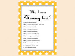 who knows the best mesmerizing free printable baby shower who knows the