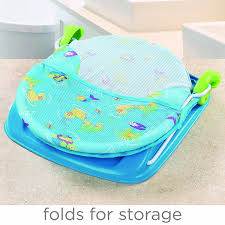 amazon com summer infant deluxe baby bather blue baby bathing