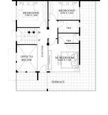 two storey residential floor plan 50 images of 15 two storey modern houses with floor plans and
