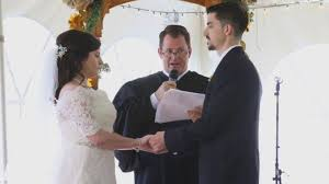 how to officiate a wedding heroin addict asks judge to officiate wedding during
