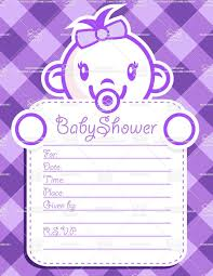 beautiful purple background with baby for purple baby shower