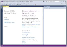 microsoft visual studio express download