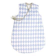 nobodinoz tour de lit gigoteuse bébé nobodinoz gigoteuse losange bleu linge de lit