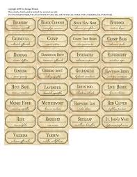 halloween apothecary jar labels free spice labels printable an herbal medicine series of