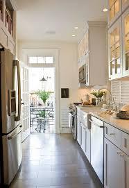 white galley kitchen designs staggered kitchen cabinets 5 white galley kitchen transitional