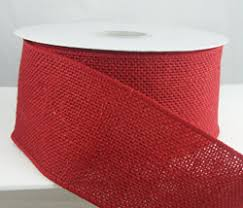 burlap wired ribbon christmas ribbon velvet and specialty