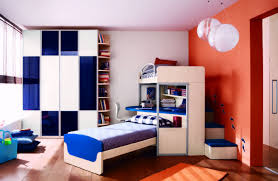 boys sports bedrooms gray wall red glass laminate white