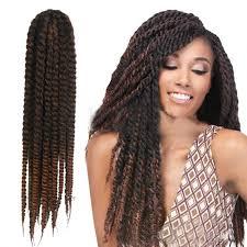 how to crochet black women hair 100 human hair woman 60cm 24 quality havana mambo twist crochet braid afro