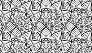 Dessin a imprimer de mandala à colorier gratuit  Artherapieca