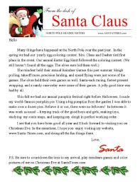 template for santa letter letter from santa claus pdf letter from santa pdf you can print