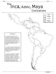 Mesoamerica Map Mesoamerica Webquest Culture Of The Americas Inca Empire