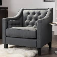 Grey Patterned Accent Chair Safavieh Chairs Living Room Furniture The Home Depot
