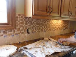 Kitchen With Mosaic Backsplash by Kitchen Delightful Kitchen Decoration Design Ideas Using Light