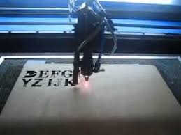 triumphlaser wood letter jiasaw laser cutting machine youtube
