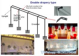 wedding backdrop kits sale adjustable pipe and drape backdorp kits system design wedding